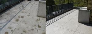 Natursteinsanierung - Granit reinigen