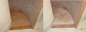 Natursteinsanierung - Kalkstein reinigen