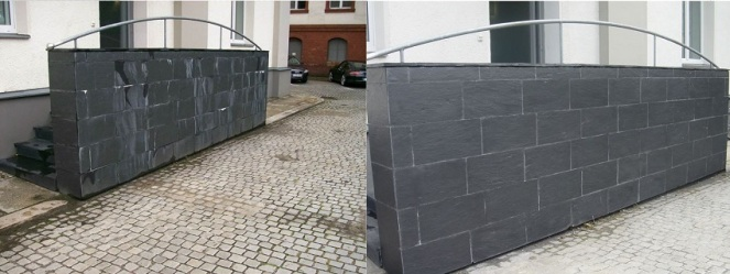 Natursteinsanierung in Hessen Schiefer